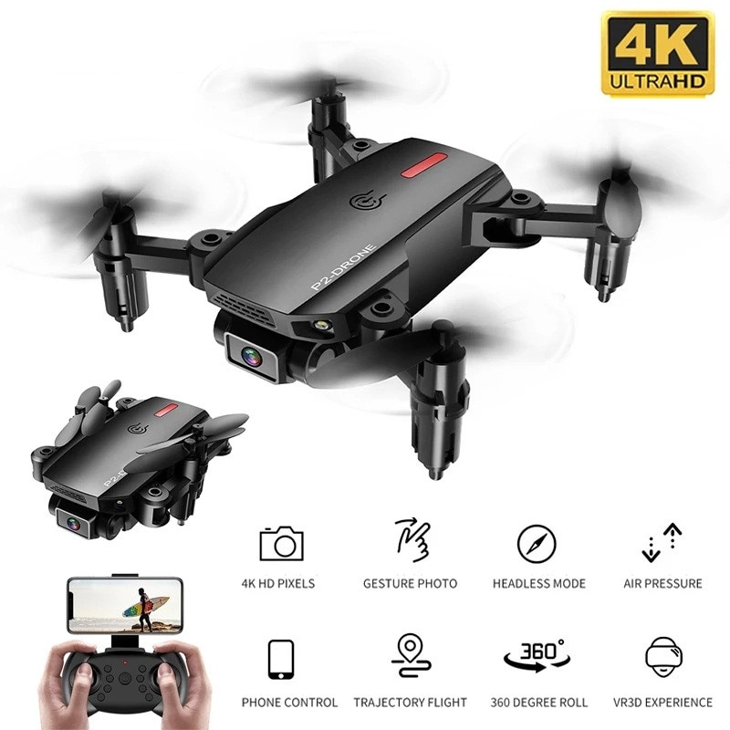 f6 drone 4k 1080p hd wifi quadcopter servo camera remote control adjustable angle drone camera dron reserve height rc helicopter P2 Drone 4K WIFI HD 1080P Remote Control Quadcopter Height Keep Visual Positioning Wide-angle Camera Follow Me Dron Toys Foy Boy