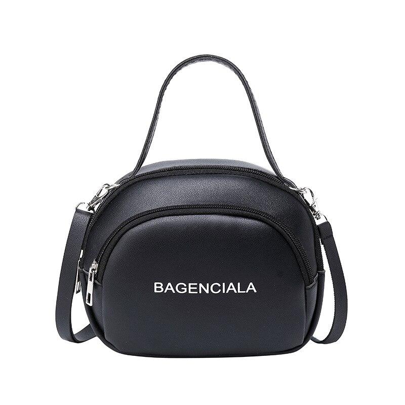 2020 Fashion Mini Shoulder Bag Female Small PU Leather Crossbody Bag Girl's Travel Totes Bag Ladies Makeup Bag Handbags