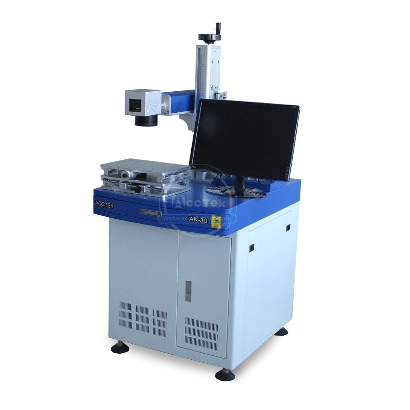 Gran oferta láser marcador raycus fibra láser 20w 30w 100w metal madera Máquina de marcado láser de fibra