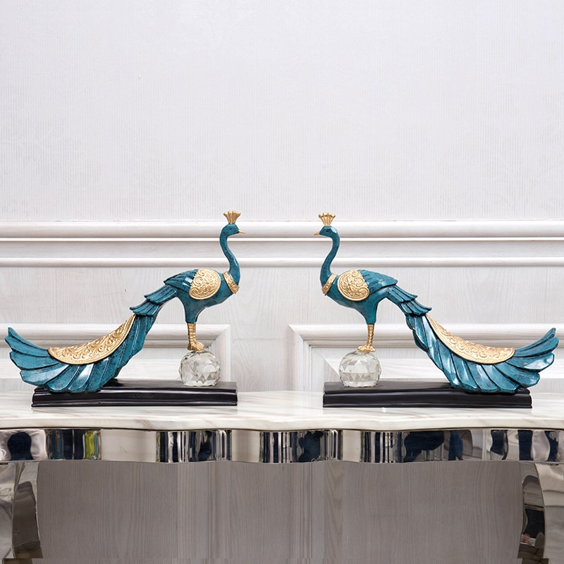 european-resin-peacock-ornaments-tv-cabinet-hotel-figurines-decoration-office-accessories-crafts-home-livingroom-furnishing-art