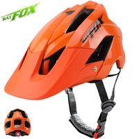 BATFOX Bike Helmet MTB Road Safty Protction Integrally-molded Ultralight Breathable Bicycle Cycling Helmet For Adults Men Women