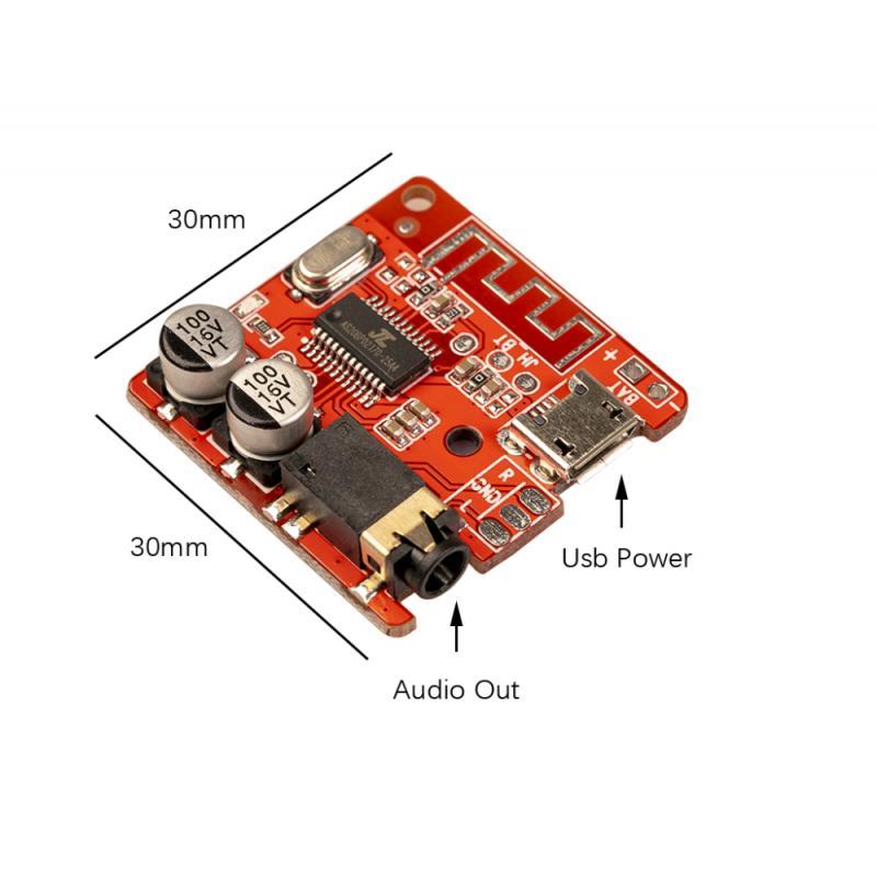 Wireless Stereo Musik Modul JL6925A Echte Stereo 5,0 Bluetooth Audio Empfänger bord Bluetooth 4,1 5,0 mp3 verlustfreie decoder board