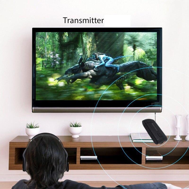 Receptor transmisor de Audio inalámbrico Bluetooth para TV Phone PC Y1X2 adaptador estéreo de Audio música adaptador de música multipunto TXTB1