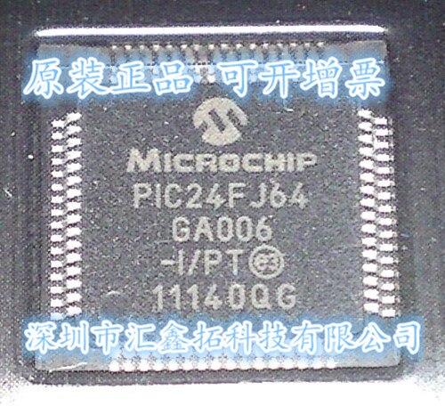 5pcs/lot PIC24FJ64GA006-I/PT TQFP64 5pcs mcp3008 i p mcp3008 i mcp3008 dip14