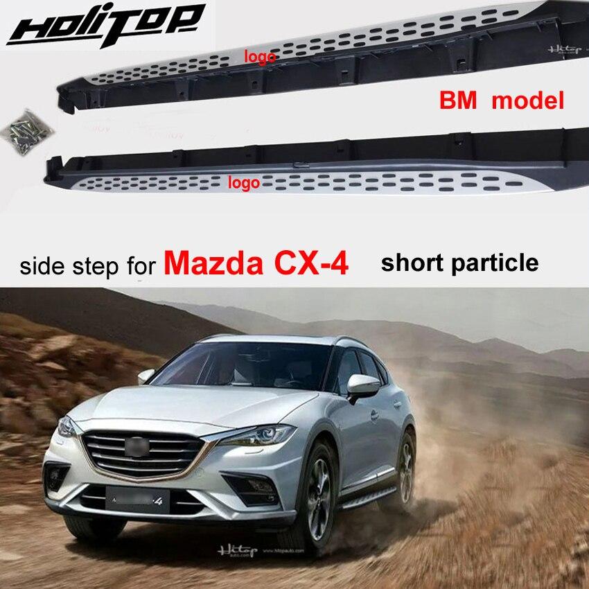 Tabla de correr caliente nerf Barra de paso lateral para Mazda CX-4, dos tipos de partículas, popular en China, mejora SUV, la mejor recomendación
