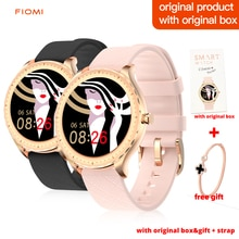 FIOMI Y1 Fashion Smart Watch Women Bluetooth Call CustomDial Touch Waterproof Smartwatch For Android
