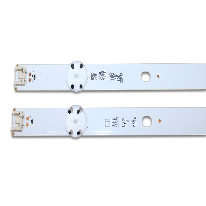 led backlight strip 5 lamp for lg 32tv innotek direct 15 5y 32inch 32lf510b 32lh590u svl320al5 dh lf51 32lh51 hd ssc 32inch hd 4 PCS 5LEDs 590mm LED backlight strip for LG 32LF510B Innotek direct 32inch CSP 32LH510B 32LH51_HD S SSC_32INCH_HD