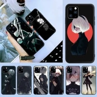 nier automata phone case for iphone 6 7 8 plus 11 12 promax x xr xs se max back cover
