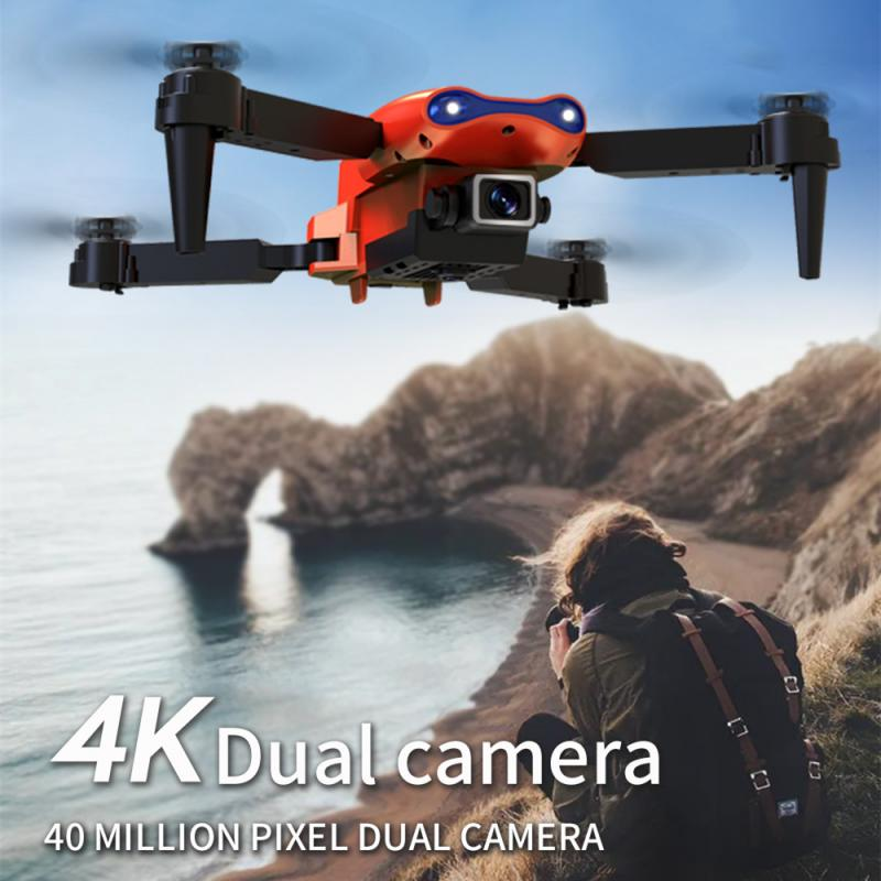 RC Drone With 4K/NO Camera FPV Drones Quadcopter Dron Smart Hovering Flying Helicopter Remote Control Toys E99 PRO