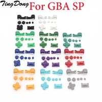 tingdong new white blue black button key set for gameboy gba sp a b select start power on off l r buttons d pad