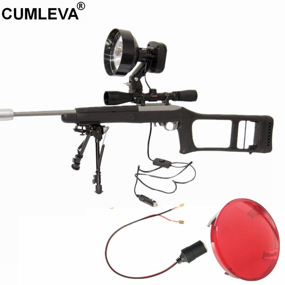 12 فولت 35 واط HID نطاق شنت الأضواء 3500lm بندقية شنت الأضواء قابل للتعديل بقعة إضاءة شعاعية أو الفيضانات 6