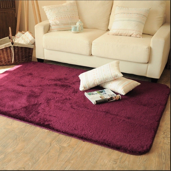15 Colors New Popular WOW Home Rugs  Yoga mats Living Bedroom Plush Rugs  Non-slip carpet (5 Sizes)