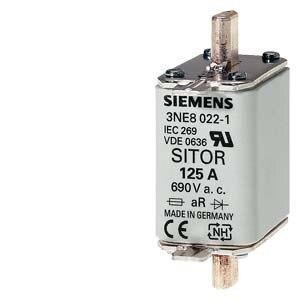 3NE Semiconductor Protection Fuses 3NE80221 125A 3NE8022-1