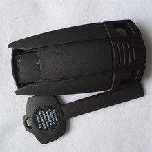 DAKATU Replacement Emergency Smart Remote Key Shell for BMW CAS X5 X6 E93 E92 E60 With Plastic Key no chip inside
