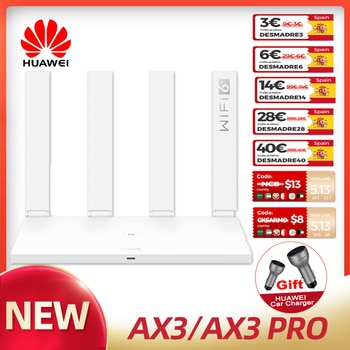 Original Huawei Global Router AX3 /AX3 PRO Wireless WiFi 6 Plus 2.4GHz 5GHz Dual-Band Speed Repeater For Home Office