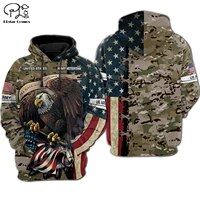newfashion newest usa eagle military army suits soldier veteran camo pullover 3dprint menwomen harajuku funny casual hoodies 22