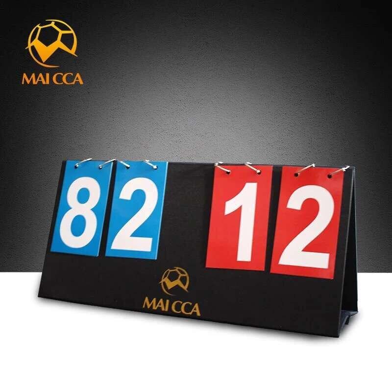 MAICCA баскетбол табло 4 цифры по ценам от производителя футбольное табло для Футбол гандбол волейбол настольного тенниса спортивные табло