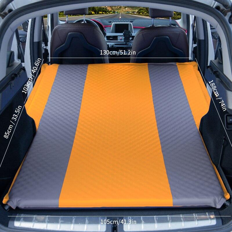 مرتبة سيارة أوتوماتيكية سميكة ، قابلة للنفخ ، مزدوجة ، محمولة ، مقاومة للماء ، سجادة خارجية ، وسادة نوم ، تخييم ، سييستا