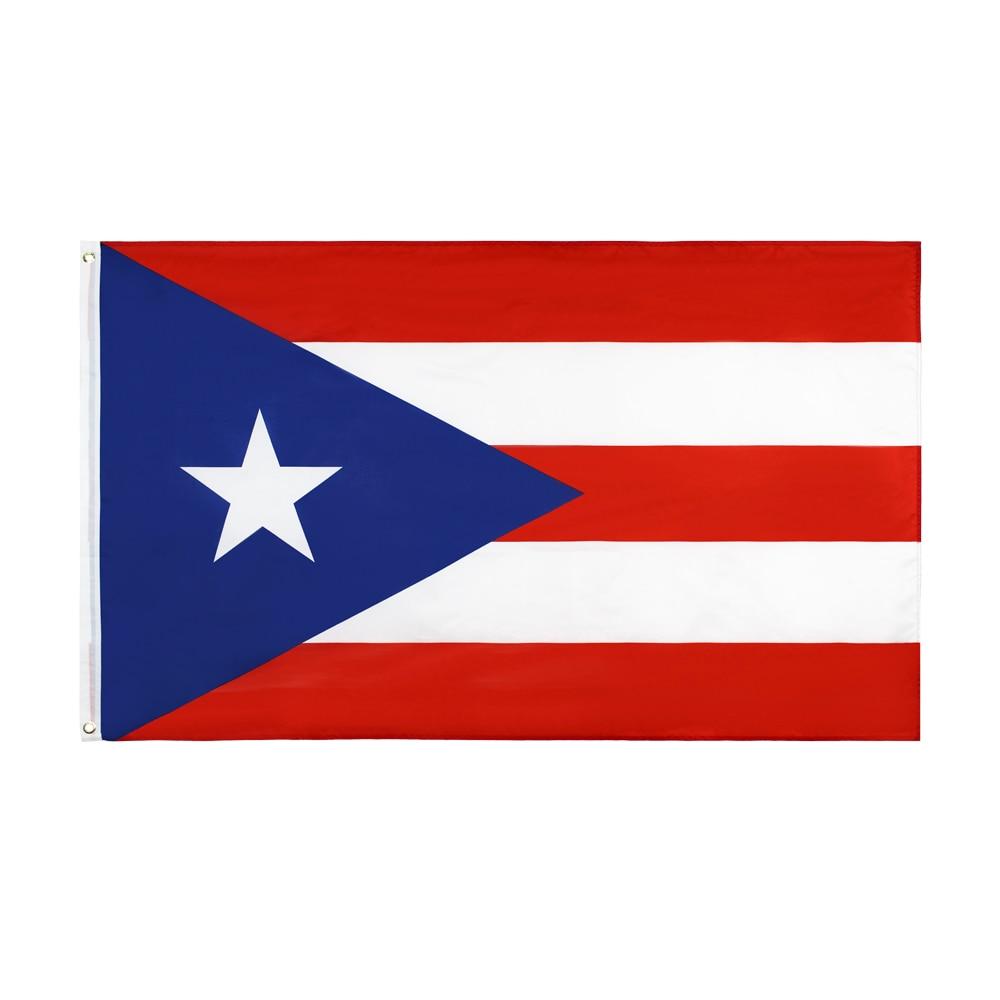 WN 60X90 90 90x 150cm Pr bandera de Puerto Rico para Decoración