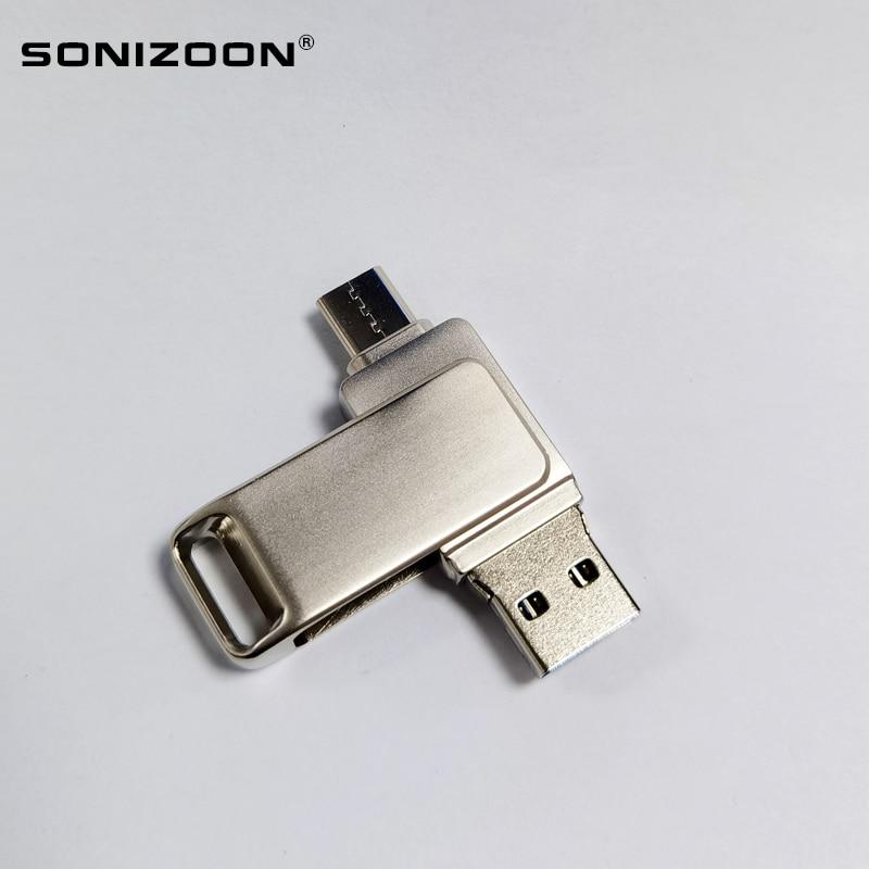 SONIZOON TPYEC USB3.1 OTG  Flash Drive Type-C   16GB  Stick 3.0 Pendrive for  Device
