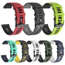 Galaxy Active2 bracelet pour Samsung Galaxy montre 42mm/actif 2 44mm 40mm/Gear Sport S2 classique bracelet en Silicone bracelet de montre