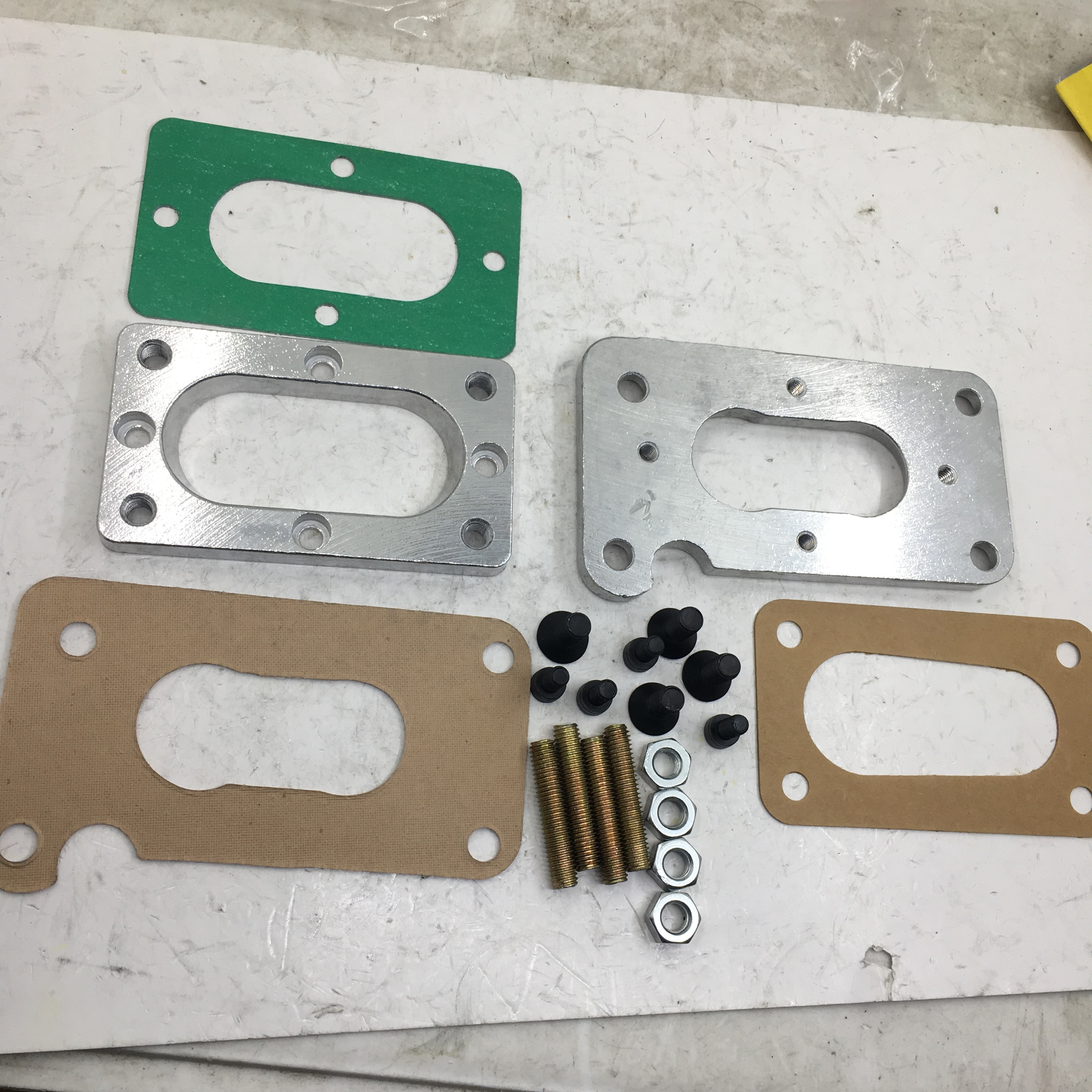 Sherryberg fajs empi weber carb carburador kit adaptador para toyota nissan datsun suzuki placa para mikuni 32/36 dgev dgv 38/38 dg