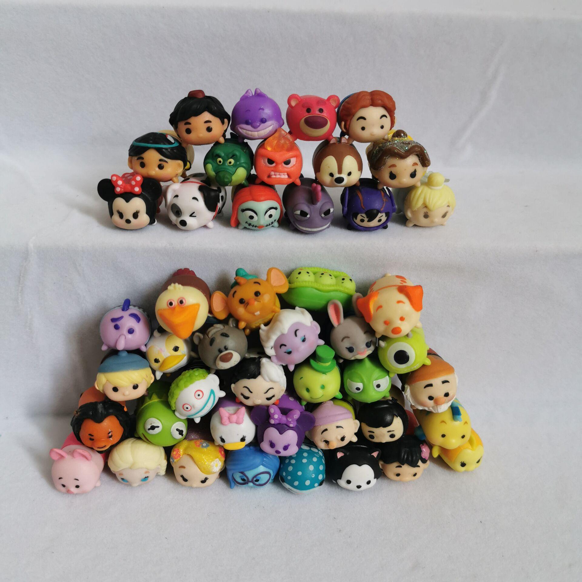 Отправить 10 шт. различных оригинальных Дисней pixar клубника медведь Вуди Микки Рапунцель ЦУМ кукла ребенок