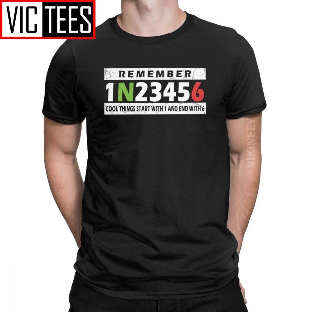 Circuito Moto rcycle 1N23456 camiseta para hombre montar Moto Super moto bicicleta Chopper increíble Camiseta de algodón estampado 3D