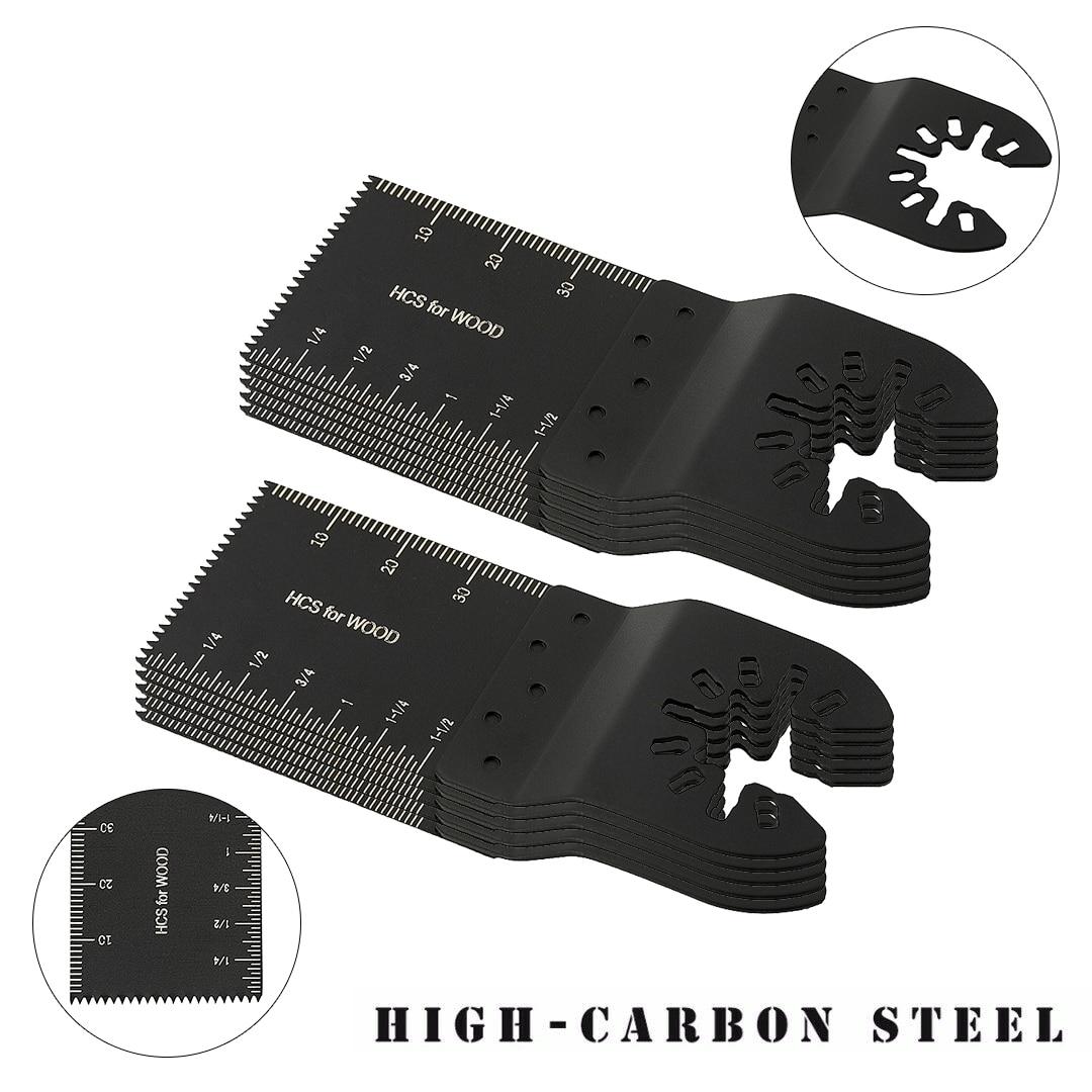 Multi-Function Saw Blade Oscillating Saw Blade Multitool Blades Set Universal Cutter Blade Renovator Power Tools Accessories