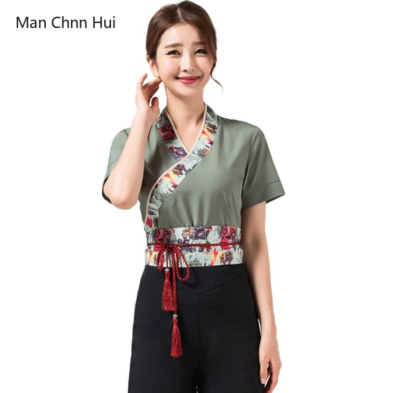 Женский костюм для салонов красоты, летняя форма для спа-салонов, униформа для красоты