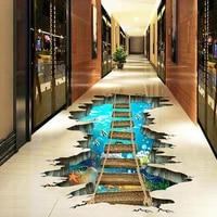 removable self adhesive waterproof 3d wall decor decals floor stickers for kids bedroom ceiling living room nursery