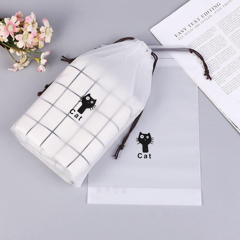 1PC Cat Waterproof Cosmetic B Women Travel Makeup Case Zipper Makeup Bath Organizer Storage Pouch Toiletry Wash Beauty Kit