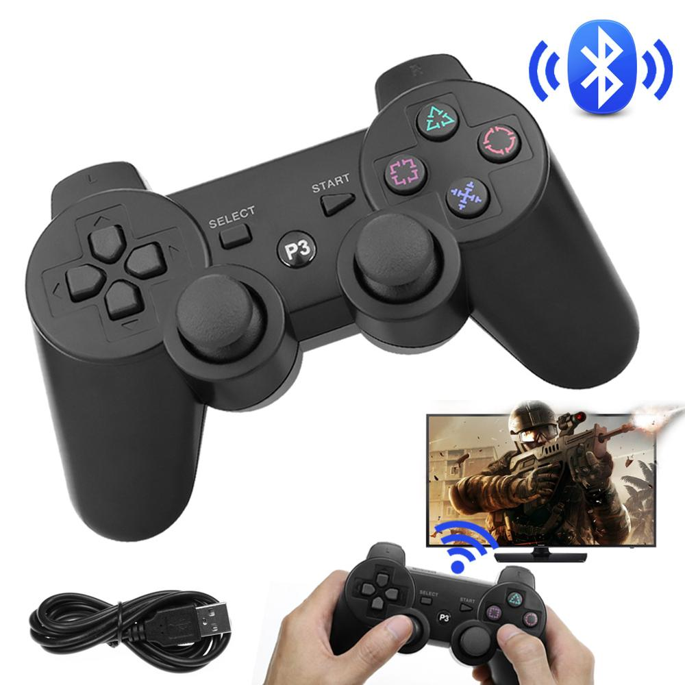 For Playstation 3 Wireless Bluetooth Gamepad For Sony PS3 Wireless Game Controller Joystick Gamepad For PS3 Controller support bluetooth wireless controller for sony ps3 gamepad for ps3 console joystick for sony playstation 3 pc for dualshock