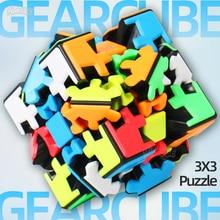 Yumo 3x3 Getriebe Puzzle Twist Cube 3x3x3 Getriebe 3*3*3 Professionelle spiel Spielzeug Seltsame Form