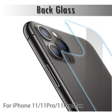 New 1PC Ultra-thin 9H HD Tempered Glass Screen Protector Back Protective Film For iPhone 11 Pro Max