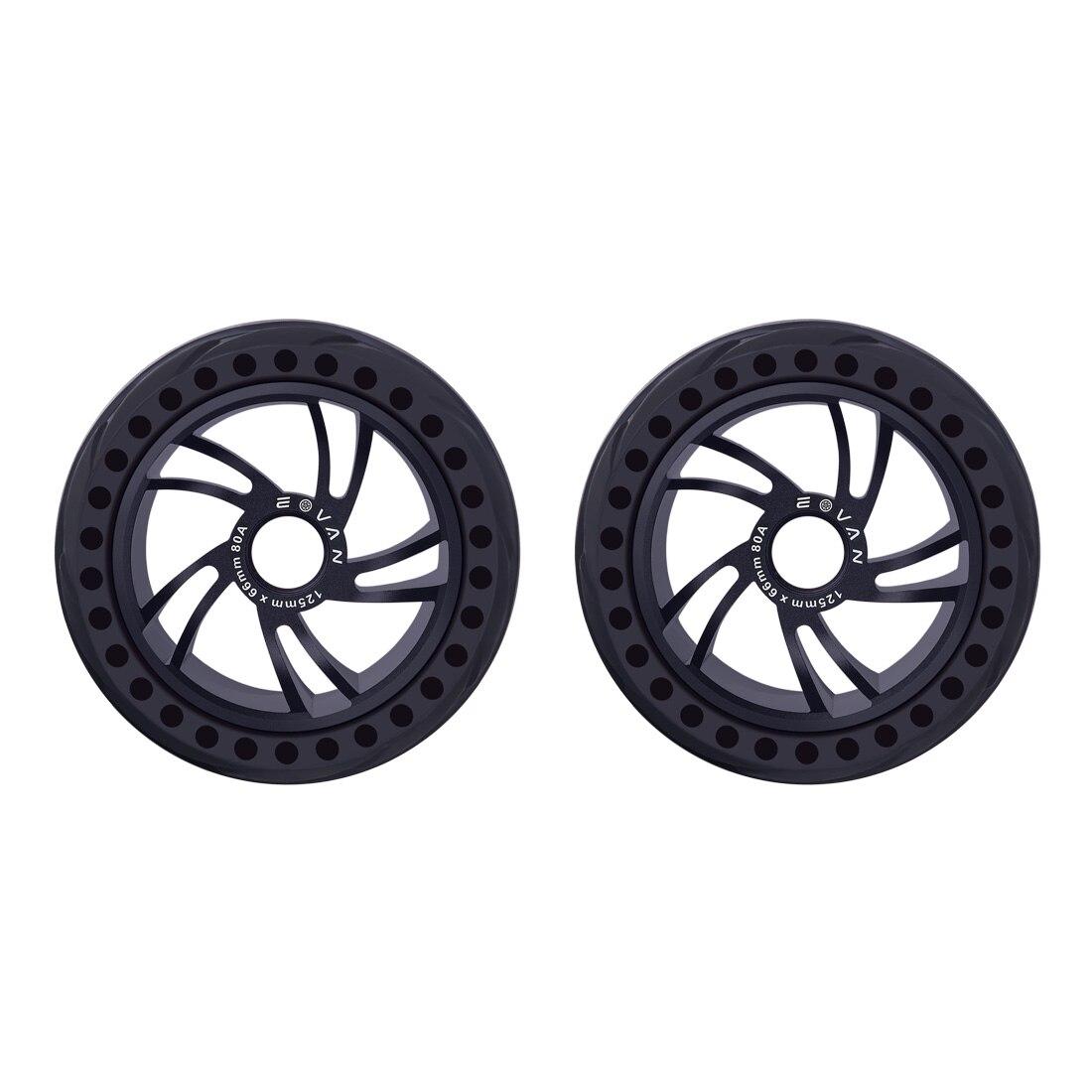 2 uds 125LMH neumáticos de goma todoterreno-Negro