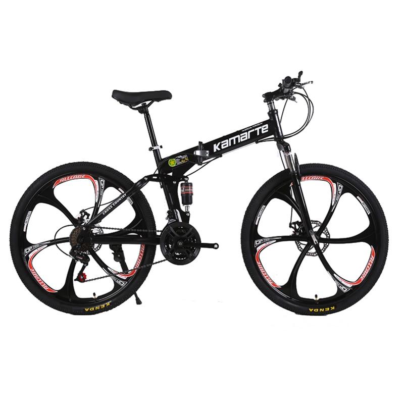 21 velocidade dobrado mountain bike 24/26 polegada 3/6/10 faca roda bicicletas de aço carbono duplo disco freio esporte bicicletas mountain bike