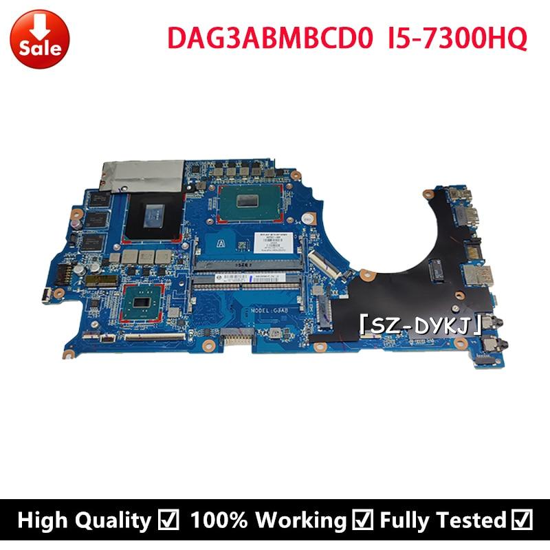 ل HP 15-CE 15T-CE000 TPN-Q194 اللوحة المحمول i5-7300hq GTX1060 6GB 937751-601 937751-001 DAG3ABMBCD0 L05577-001 اللوحة