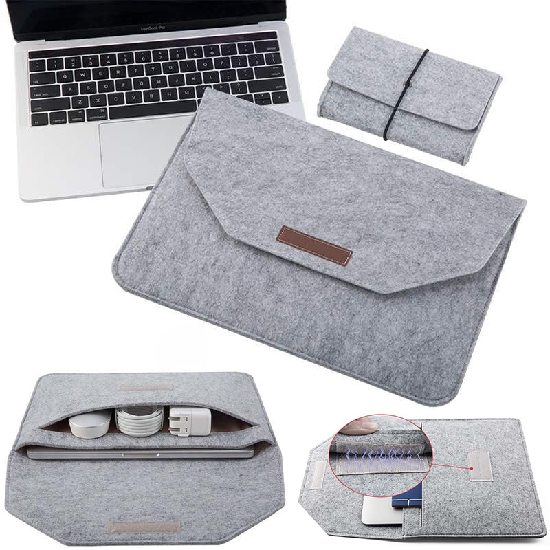 2021 Laptop Sleeve Bag 13 14 15.4 15.6 16 Inch For Apple Macbook Air Pro 13.3 for HuaWei Honor Magic