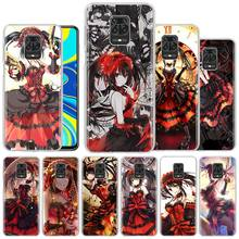 Phone Case for Xiaomi Redmi Note 8T 9S 6 7 8 9 Pro Redmi K20 K30 Pro Zoom 6A 7A 8A Hard PC Fundas Capa Anime Kurumi Tokisaki