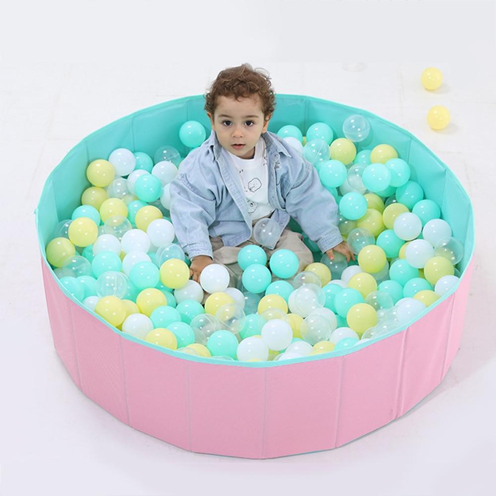 Baby Playpen Children Safety Barrier Pool Balls Foldable Dry Pool Infant Ball Pit Ocean Ball Toys For Children Birthday Gift