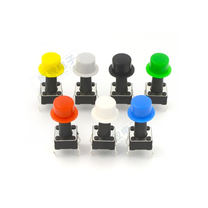 100pieces A101 switch button cap inner diameter 3.1mm suitable for 6 * 6 key switch tact switch