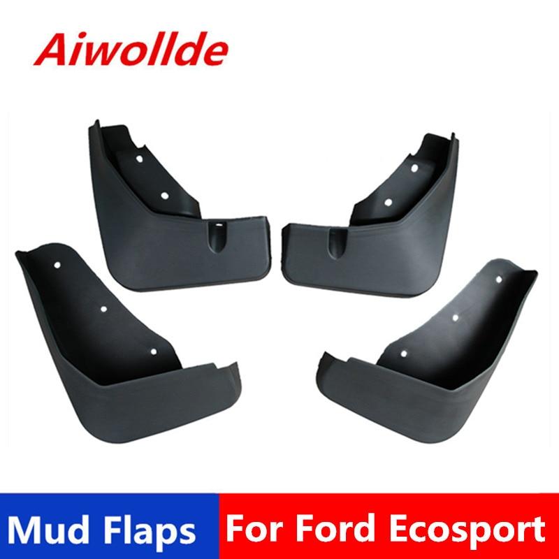 Car Mud Flaps For Ford Ecosport 2013-2019 Mudflaps Splash Guards Mud Flap Mudguards Fender