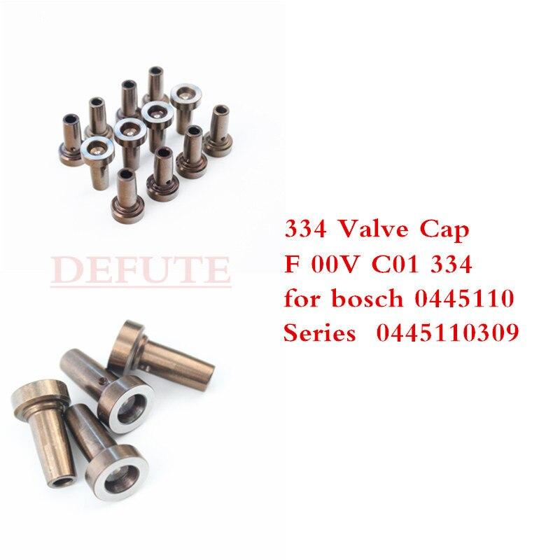 334 tapa de válvula, F 00V C01 334 Válvula de Control, FooVC01334, tapa de válvula de Control, asiento de válvula, para bosch 0445 serie 110 0 445 11