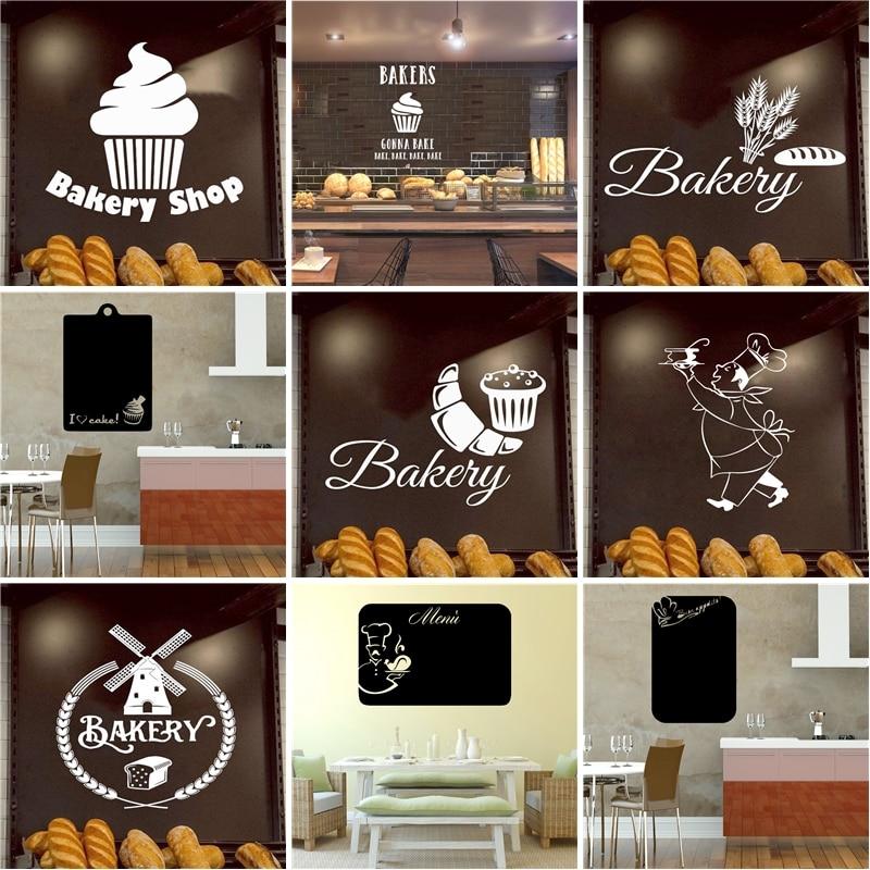 Новинка 2020, стикер на стену для кухни, для пекарни, индивидуальный креативный домашний декор, настенные украшения, обои для кухни, стикер s