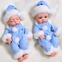30cm winter dress reborn baby doll full silicone waterproof baby dolls lifelike real bebe bath play reborn toys gifts for kid