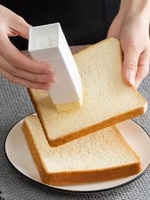 1pc handy solid butter spreader holders sticks plastic storage box small kitchen baking tools convenient cheese keeper case new