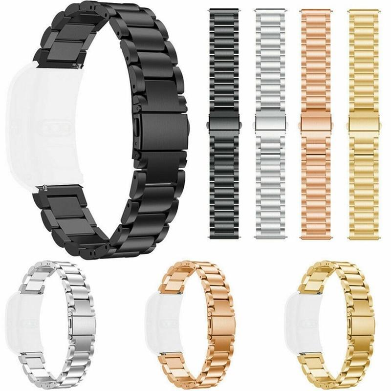 18 MILLIMETRI In Acciaio Inox Cinturino Da Polso Per Huawei B5 Honor B5 Smart Watch Band Metallo Braccialetto Milanese Per Garmin Vivoactive 4S Correa
