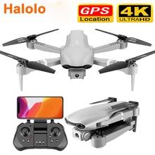 Drone Halolo GPS 4K 5G WiFi vidéo en direct FPV 4K/1080P HD caméra grand Angle pliable maintien daltitude Drone RC Durable