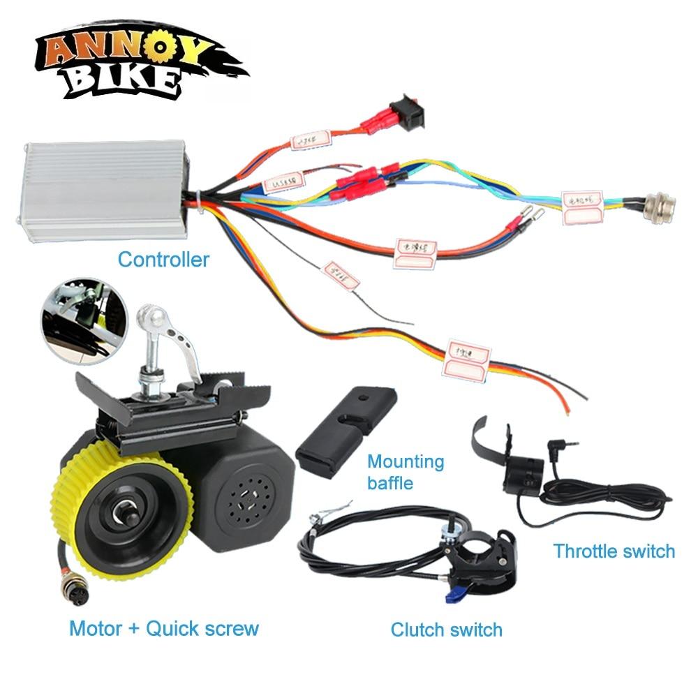 Kit de modificación de Bicicleta eléctrica, controlador de refuerzo, Motor General, 36v...